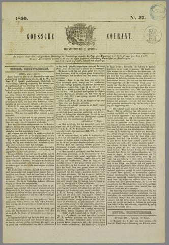 Goessche Courant 1850-04-04