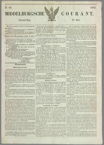 Middelburgsche Courant 1865-05-25