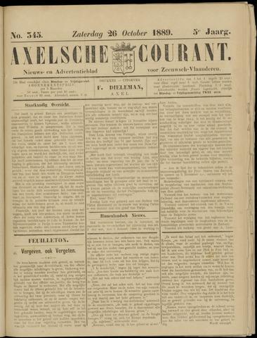 Axelsche Courant 1889-10-26