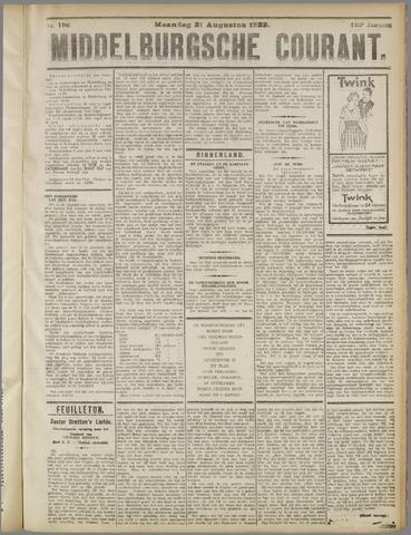 Middelburgsche Courant 1922-08-21