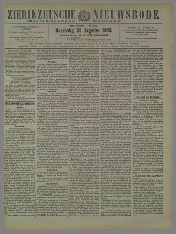 Zierikzeesche Nieuwsbode 1905-08-31