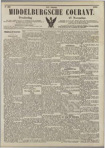 Middelburgsche Courant 1902-11-27