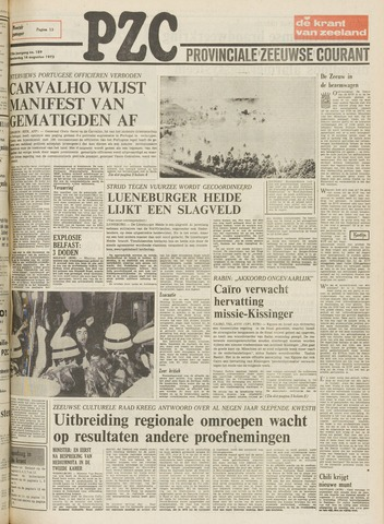 Provinciale Zeeuwse Courant 1975-08-14