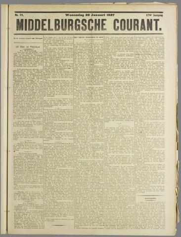 Middelburgsche Courant 1927-01-26