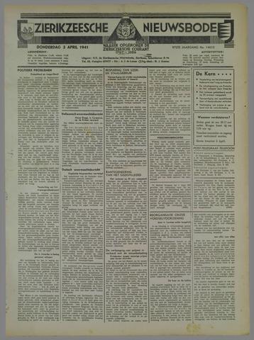 Zierikzeesche Nieuwsbode 1941-04-03