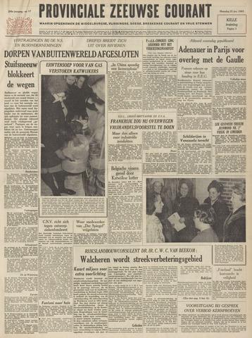 Provinciale Zeeuwse Courant 1963-01-21
