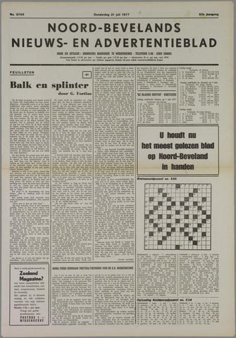 Noord-Bevelands Nieuws- en advertentieblad 1977-07-21