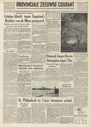 Provinciale Zeeuwse Courant 1956-05-09