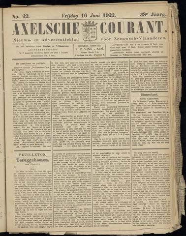 Axelsche Courant 1922-06-16