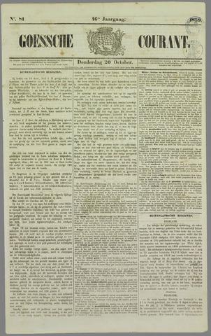 Goessche Courant 1859-10-20