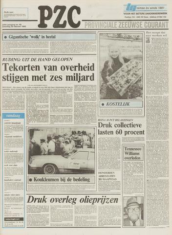Provinciale Zeeuwse Courant 1983-02-26