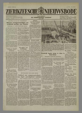 Zierikzeesche Nieuwsbode 1954-06-01