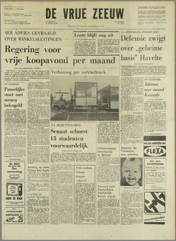 de Vrije Zeeuw 1970-04-25