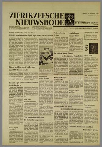 Zierikzeesche Nieuwsbode 1962-08-27