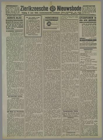 Zierikzeesche Nieuwsbode 1933-06-09