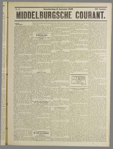 Middelburgsche Courant 1925-01-08