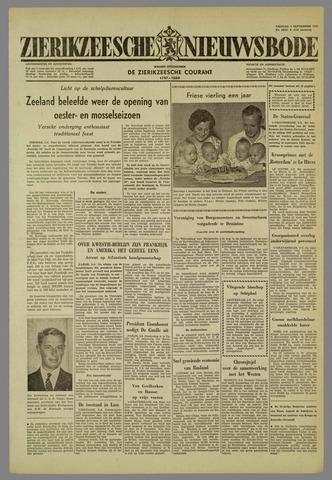Zierikzeesche Nieuwsbode 1959-09-04
