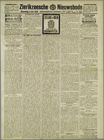 Zierikzeesche Nieuwsbode 1926-06-02