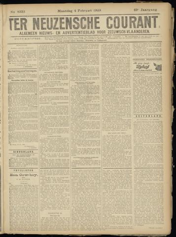 Ter Neuzensche Courant. Algemeen Nieuws- en Advertentieblad voor Zeeuwsch-Vlaanderen / Neuzensche Courant ... (idem) / (Algemeen) nieuws en advertentieblad voor Zeeuwsch-Vlaanderen 1929-02-04