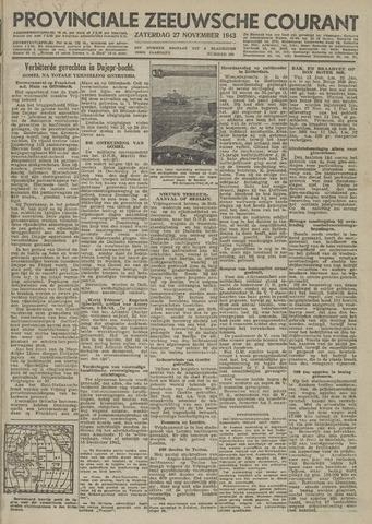 Provinciale Zeeuwse Courant 1943-11-27