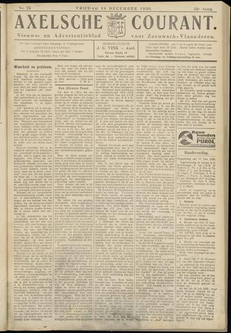 Axelsche Courant 1936-12-18