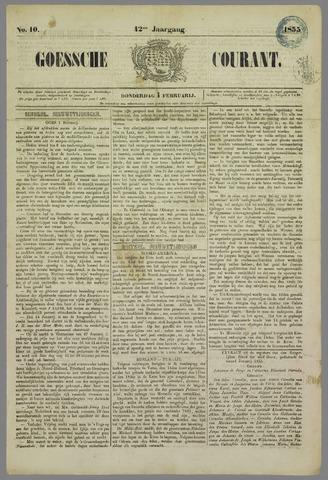 Goessche Courant 1855-02-01