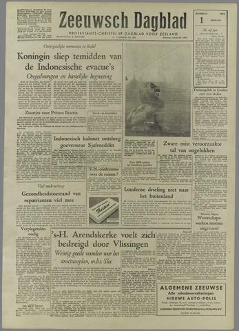 Zeeuwsch Dagblad 1958-02-01