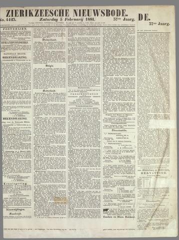 Zierikzeesche Nieuwsbode 1881-02-05