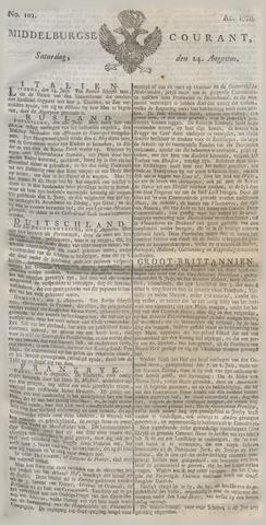 Middelburgsche Courant 1776-08-24