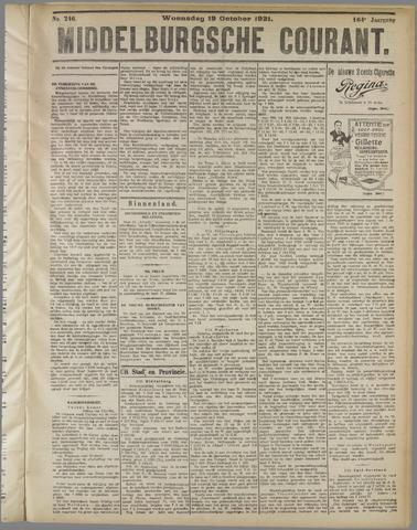 Middelburgsche Courant 1921-10-19
