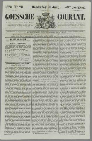 Goessche Courant 1872-06-20