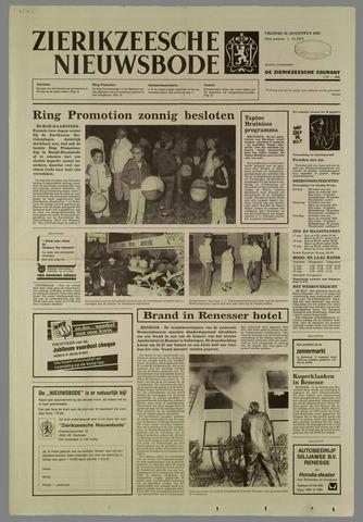 Zierikzeesche Nieuwsbode 1985-08-16