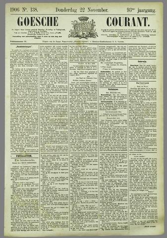 Goessche Courant 1906-11-22