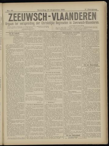Luctor et Emergo. Antirevolutionair nieuws- en advertentieblad voor Zeeland / Zeeuwsch-Vlaanderen. Orgaan ter verspreiding van de christelijke beginselen in Zeeuwsch-Vlaanderen 1918-08-24