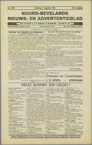 Noord-Bevelands Nieuws- en advertentieblad 1941-08-02