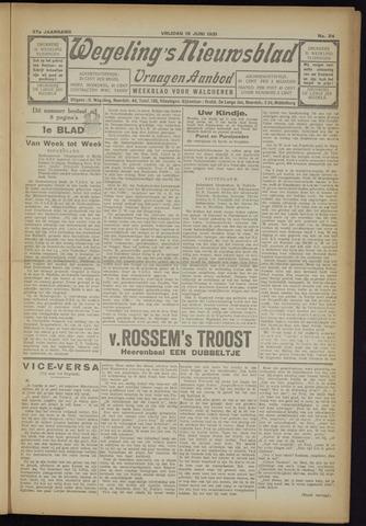 Zeeuwsch Nieuwsblad/Wegeling's Nieuwsblad 1931-06-19