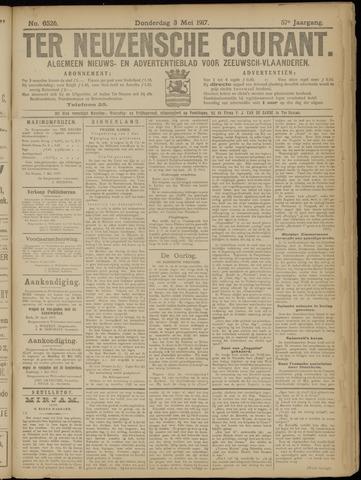 Ter Neuzensche Courant. Algemeen Nieuws- en Advertentieblad voor Zeeuwsch-Vlaanderen / Neuzensche Courant ... (idem) / (Algemeen) nieuws en advertentieblad voor Zeeuwsch-Vlaanderen 1917-05-03