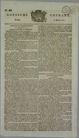 Goessche Courant 1833-03-22