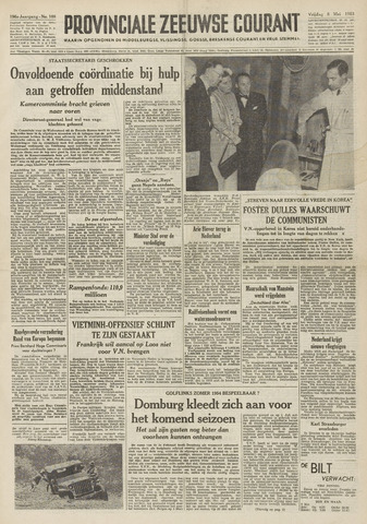 Provinciale Zeeuwse Courant 1953-05-08