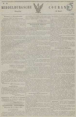 Middelburgsche Courant 1850-03-12