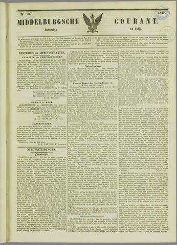 Middelburgsche Courant 1847-07-24
