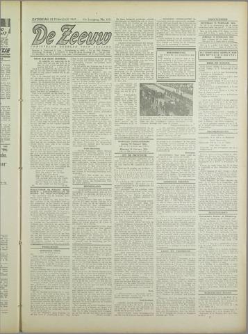 De Zeeuw. Christelijk-historisch nieuwsblad voor Zeeland 1943-02-13