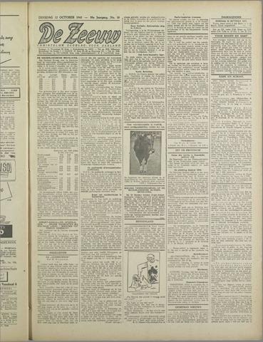 De Zeeuw. Christelijk-historisch nieuwsblad voor Zeeland 1943-10-12