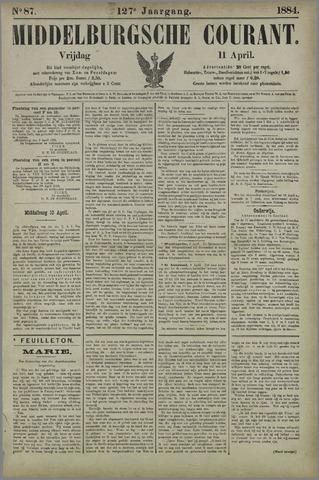 Middelburgsche Courant 1884-04-11