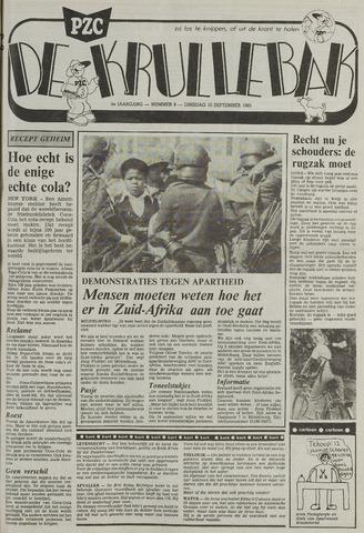 Provinciale Zeeuwse Courant katern Krullenbak (1981-1999) 1985-09-10