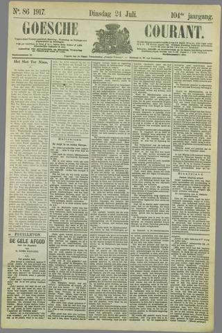 Goessche Courant 1917-07-24