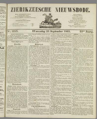 Zierikzeesche Nieuwsbode 1865-09-20
