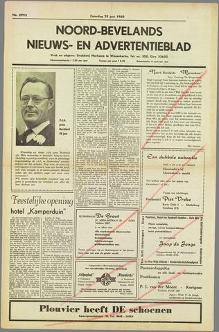 Noord-Bevelands Nieuws- en advertentieblad 1960-06-25