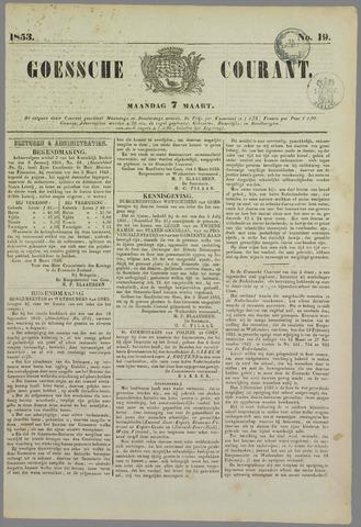 Goessche Courant 1853-03-07
