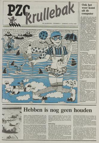 Provinciale Zeeuwse Courant katern Krullenbak (1981-1999) 1989-07-12